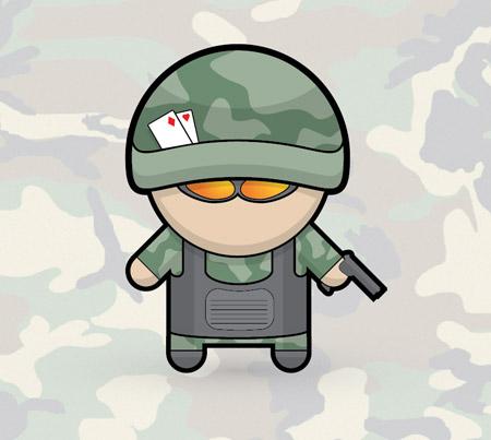 vector-soldier-character