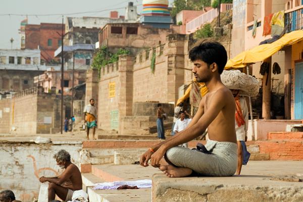 インドの青年