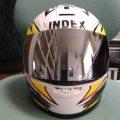 A warrior's helmet
